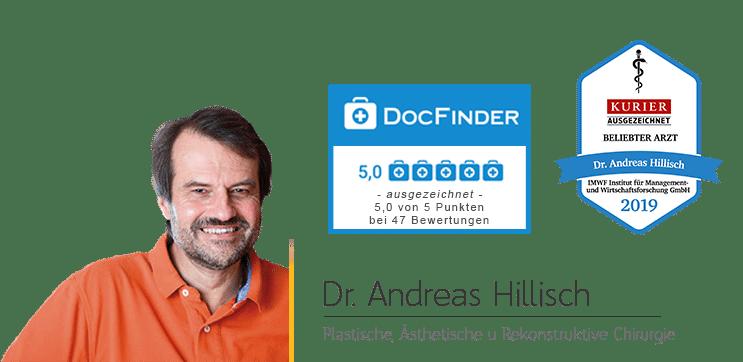 Dr. Hillisch Docfinder ausgezeichnet